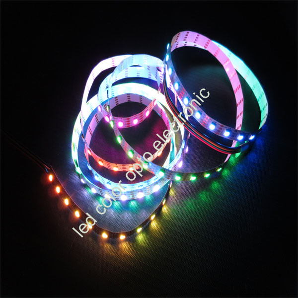 addressable rgb 72leds per meter apa102 led strip led streifen