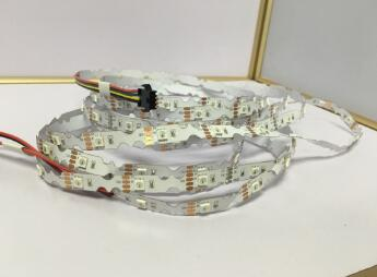 5050 RGB addressable S type SK6822 LED STRIP